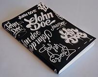 Lettering John Doe