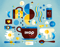 IHOP Brand Illustration