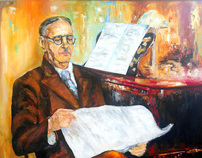 """Great Composer Uzeyir Hajibeyov"""