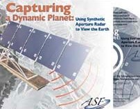 Alaska Satellite Facility DVD art and sleeve.