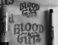 Blood & Guts Logotype