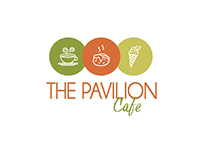The Pavillion Cafe | Logo Design @superflymarketing