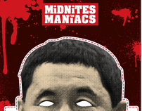 MiDNiTES FOR MANiACS mask/poster series (ongoing)
