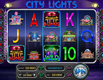 "Online slot game for SALE - ""City Lights"""