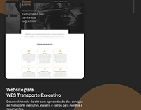 Website para WES Transporte Executivo