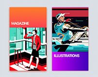 Editorial Illustrations for Magazines