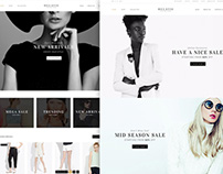 HELATIC | Fashion Store concept