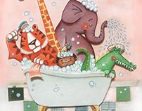Bathtime Zoo