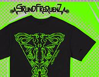 """T-Shirts GRUNDFREQUENZ """"Uterus Didelphys"""""""