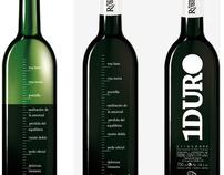1DURO, Bodegas Ruberte Wine Label