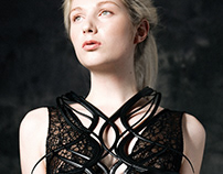 NOSTROMA DRESS - 3D PRINTING