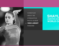 ShaylaWorley.Com Flash Banner/Website Design