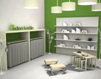 Eden Textiles - Spatial + Book Design