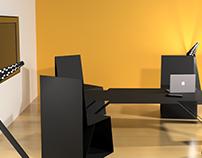 Sheet Metal Furniture- 3D Model