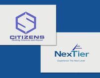 Citizens Bank to NexTier Logo morph