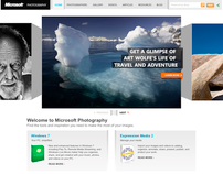 Microsoft - Photography Website