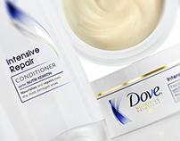 Dove Hair Care Range /// CGI Beauty Visualisations