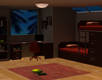 Interior Design Project with Autodesk Maya 2012