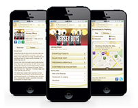Overture Center for the Arts Mobile Website
