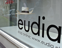 Window Design | Eudia 'Floating hats'