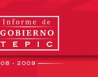 Gaceta Informe de Gobierno Tepic 2009
