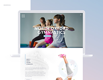 North Oxford Gymnastics  | Web & Logo Design
