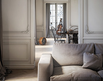 French apartment for a classical musician