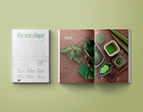 The Eco Clique - Magazine Design (Phase II)