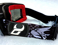 1718 DEMON SNOWBOARD GOGGLES X RUNCHEE Collaboration