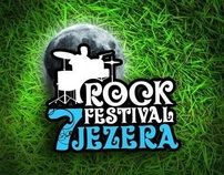 "Visual identity for ""Rock festival 7 jezera"""
