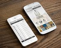Mobile app. Design