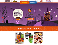 Amazon Hershey's Halloween 2017 : Pop Up Modals