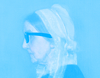 Andy's CMYK and Whistlers Mother #appropriation