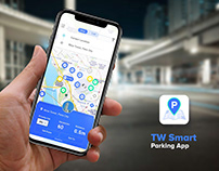 URA Parking Mobile App Design