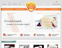 MAGICALINVITATIONS - Weeding invitations ecommerce