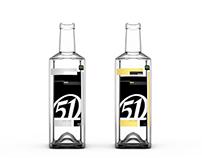 Embalagem - Lupo   Rótulo - Cachaça 51   2° ano
