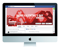 Valentine's Day Facebook Cover Photo