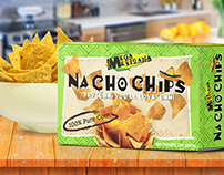 Mega Mexicana Nacho Chips Package Redesign