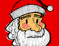 Santa Claus with INKredible android app