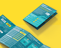 Infographic brochure for the think tank