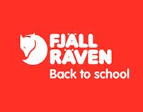 FjällRäven Back to School