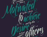 Motivate  // Type