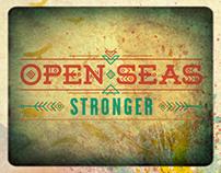 "Open Seas CD Cover for the album ""Stronger"""
