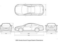 3DsMax Honda 2003 Accord project