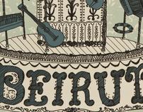 Beirut Band Poster