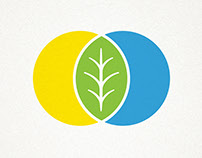 State logo for organic food products of Ukraine