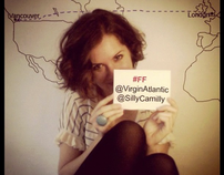 Virgin Atlantic & Silly Camilly