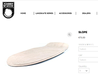 JOHNNY BE WOOD Boards - Website