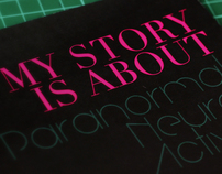 Booklet Design - My Story