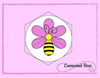Crosswind Bees Logo